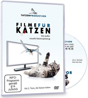 Filme für Katzen - DVD-Cover