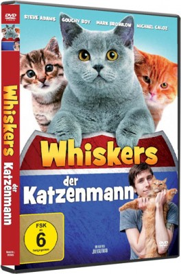DVD: Whiskers der Katzenmann