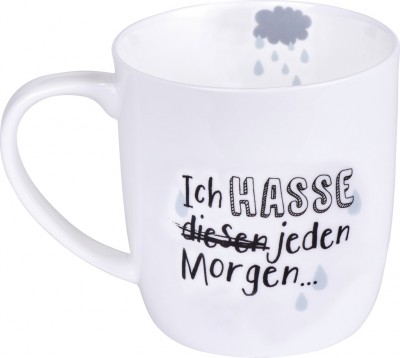 "Ed, the Cat Tasse ""Jeden Morgen"""