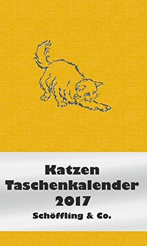 Katzen Taschenkalender 2017