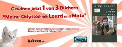 Gewinnspiel: Meine Odyssee mit Lourd und Matz