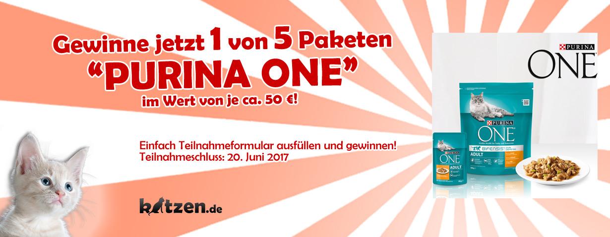 Gewinnspiel: Purina ONE - Futtervorrat
