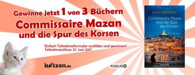 Gewinnspiel: Commissaire Mazan und die Spur des Korsen