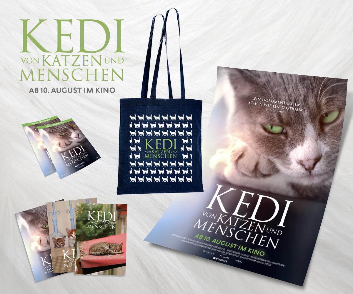 """Fanpaket zum Kinofilm """"KEDI – Von Katzen und Menschen"""""""