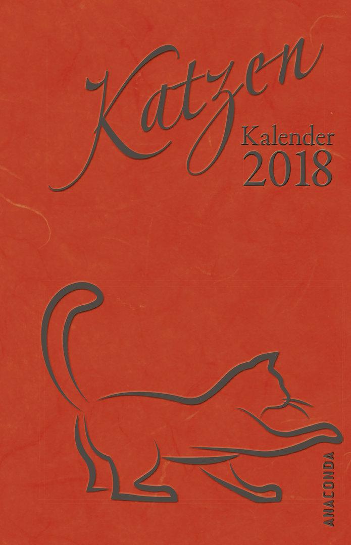 Katzen Kalender 2018 (Taschenkalender)