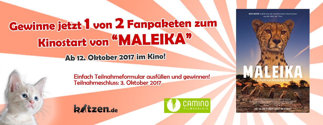 Gewinnspiel: Fanpaket zum Kinostart von MALEIKA