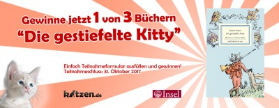 Gewinnspiel: Die gestiefelte Kitty