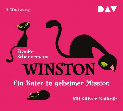 Frauke Scheunemann - Winston – Teil 1: Ein Kater in geheimer Mission | Gekürzte Fassung mit Oliver Kalkofe