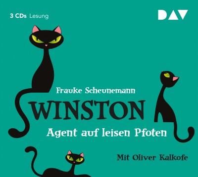 Frauke Scheunemann - Winston – Teil 2: Agent auf leisen Pfoten | Gekürzte Fassung mit Oliver Kalkofe