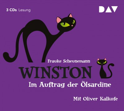 Frauke Scheunemann - Winston – Teil 2: Im Auftrag der Ölsardine | Gekürzte Fassung mit Oliver Kalkofe