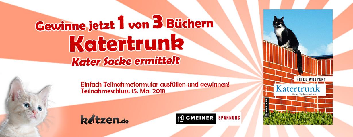 Gewinnspiel: Katertrunk - Kater Socke ermittelt
