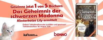 Gewinnspiel: Das Geheimnis der schwarzen Madonna – Klosterkatze Lily ermittelt