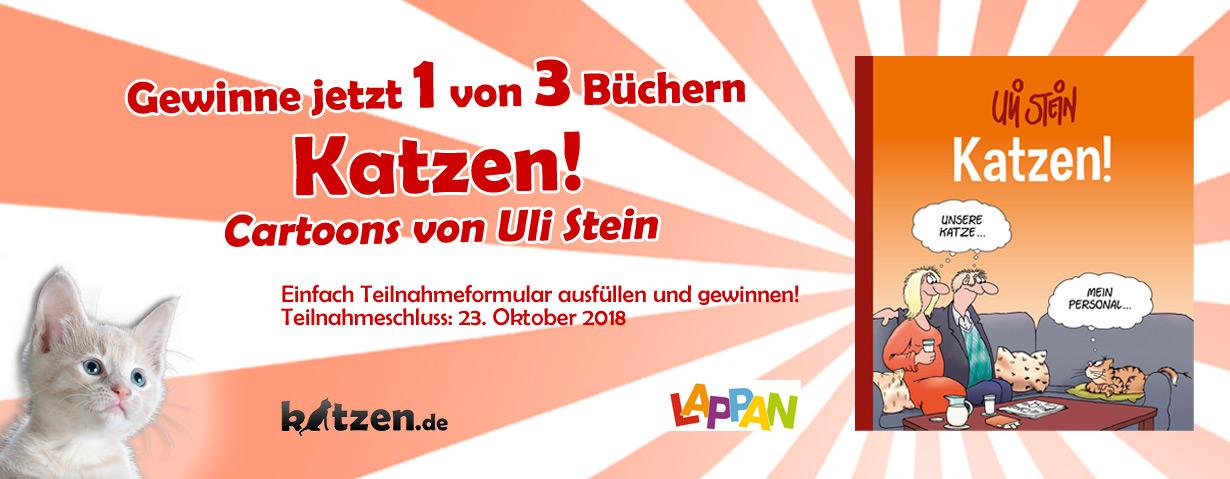Gewinnspiel Katzen Cartoons Von Uli Stein Katzen De