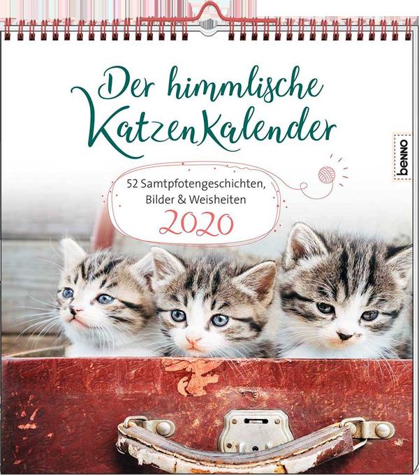 Heike Wendler - Der himmlische Katzenkalender 2020