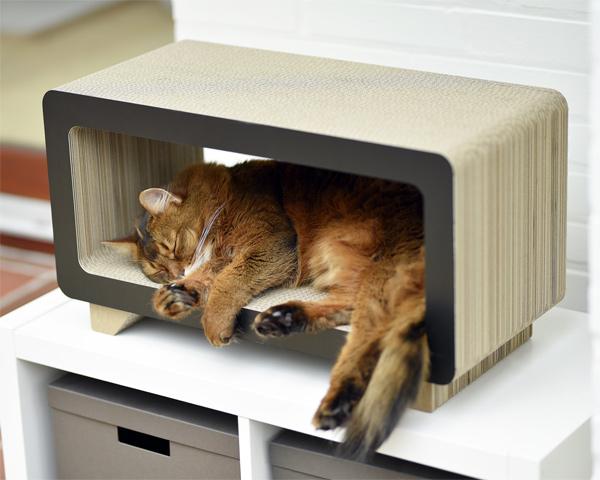 La Tele Katzenkratzmöbel von cat-on
