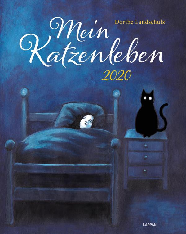 Dorthe Landschulz - Mein Katzenleben 2020: Wandkalender