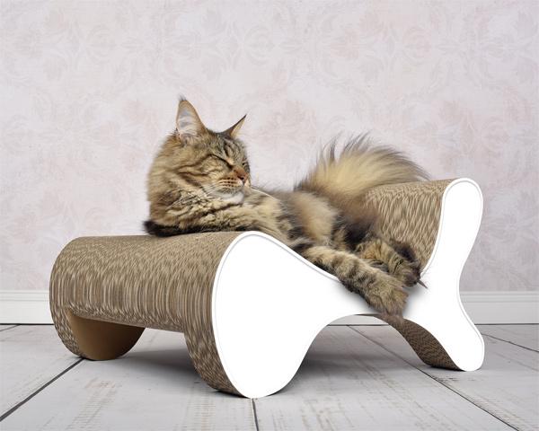 cat-on - Molecular Fauteuil Design Kratzbaum